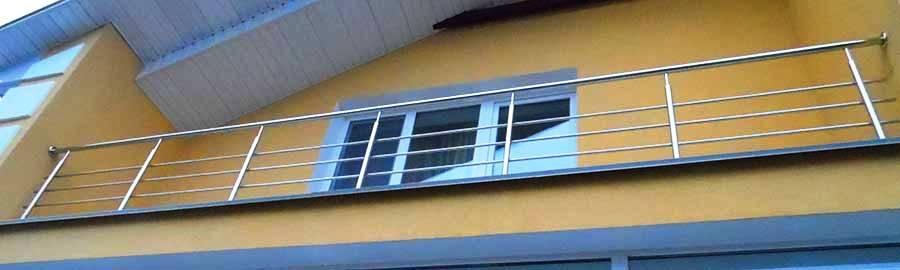 перила ціна Одеса, перила купити, перила на балкон, огородження з нержавійки ціна