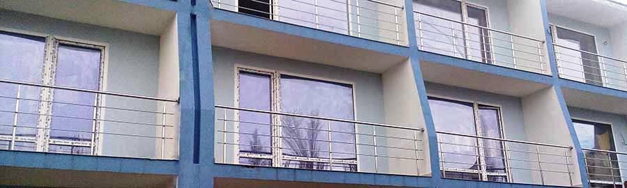 перила ціна Ужгород, перила купити, перила на балкон, огородження з нержавійки ціна