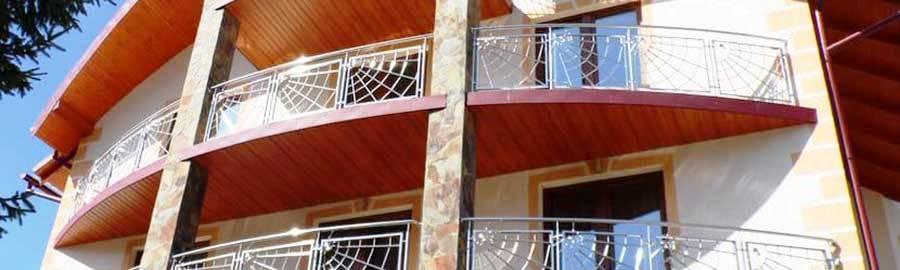 перила ціна Київ, перила купити, перила на балкон, огородження з нержавійки ціна