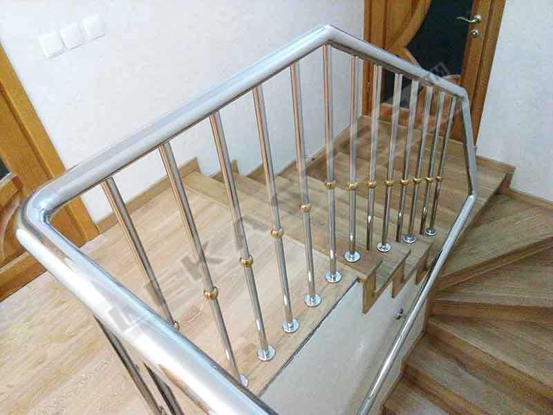 сходи ціна купити, лестница на второй этаж, лестница из нержавейки, лестница заказать изготовление