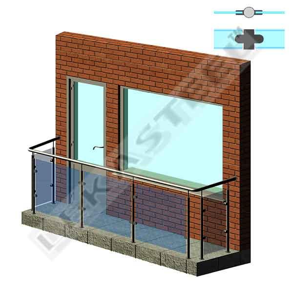 поручни на балкон, балконные ограждения, перила на балкон, ограждени для балкона цена