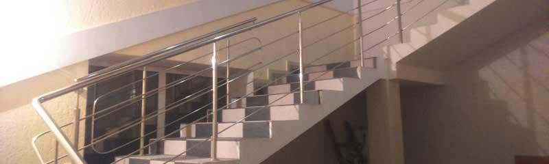 перила ціна Львів, перила купити, огорожа на сходи, огорожа для сходів з нержавійки