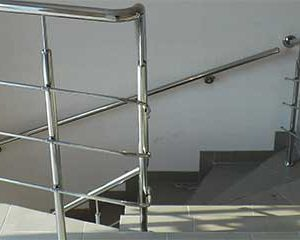 перила ціна Херсон, перила купити, огорожа на сходи, огорожа сходів з нержавійки