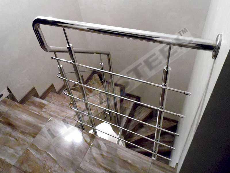 перила ціна Київ, перила купити, перила на сходи, огородження з нержавійки