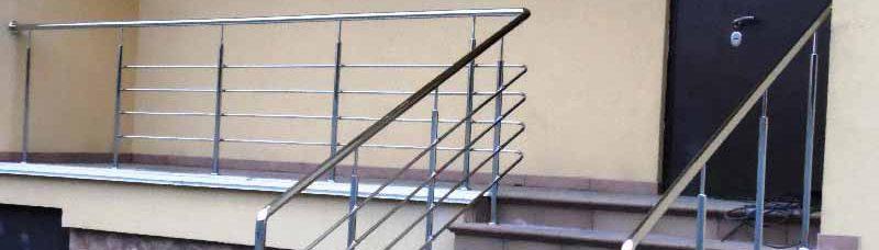перила ціна Бориспіль, перила купити, огорожа на сходи, огорожа для сходів з нержавійки
