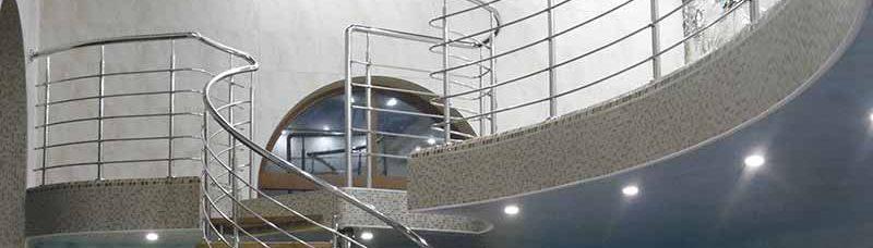 перила ціна Житомир, перила купити, огорожа на сходи, огорожа для сходів з нержавійки