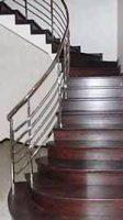 сходи замовити виготовлення, лестница из нержавейки, перила поручни ограждения нержавейки цена