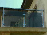 Перила з нержавійки Рівне, перила на сходи в будинку, перила на балкон
