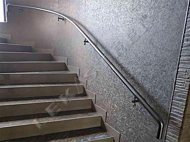 Поручні з нержавійки Київ, Поручень на сходи, Виготовлення перил