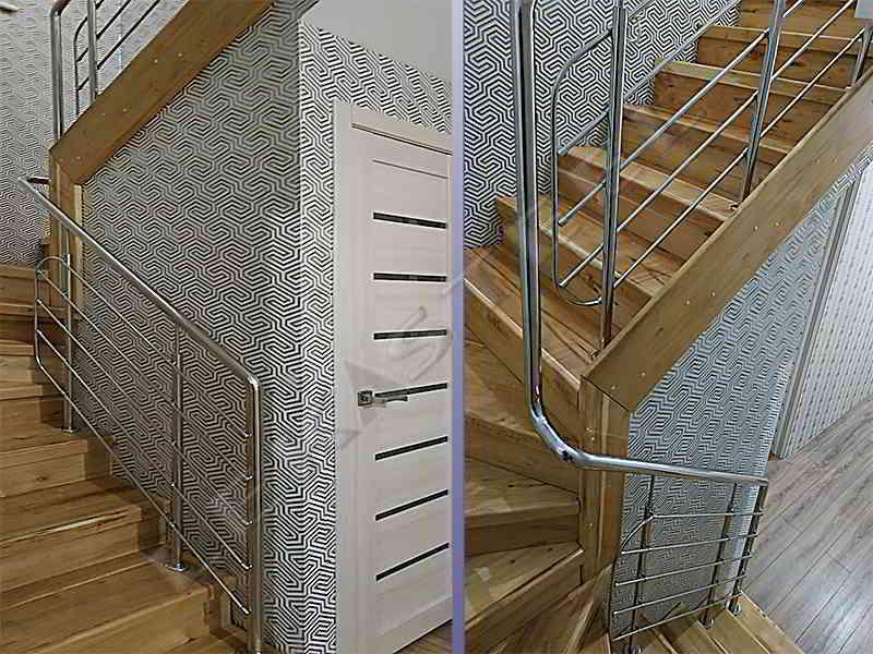 Перила на сходи на другий поверх
