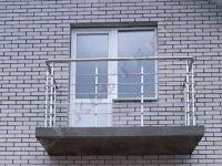 Перила на балкон, Балкон з нержавійки, Перила, Огородження