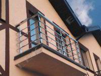 Перила на балкон, Перила, Огородження