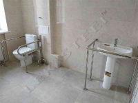 поручні для інвалідів, поручні з нержавійки, поруні в санвузол, поручні в туалет