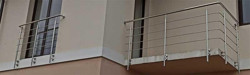 перила, перила на балкон, перила для балкона, перила нержавейка, нерржавійка