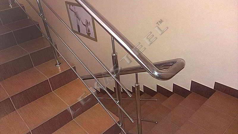 Перила на лестницу в доме, цена, купить перила
