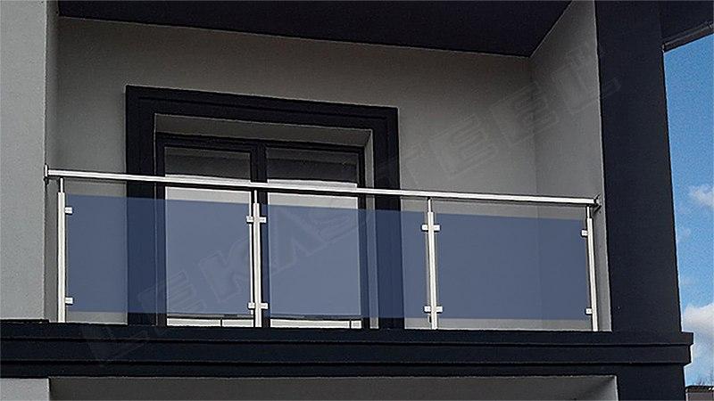 перила на балкон, перила стекло