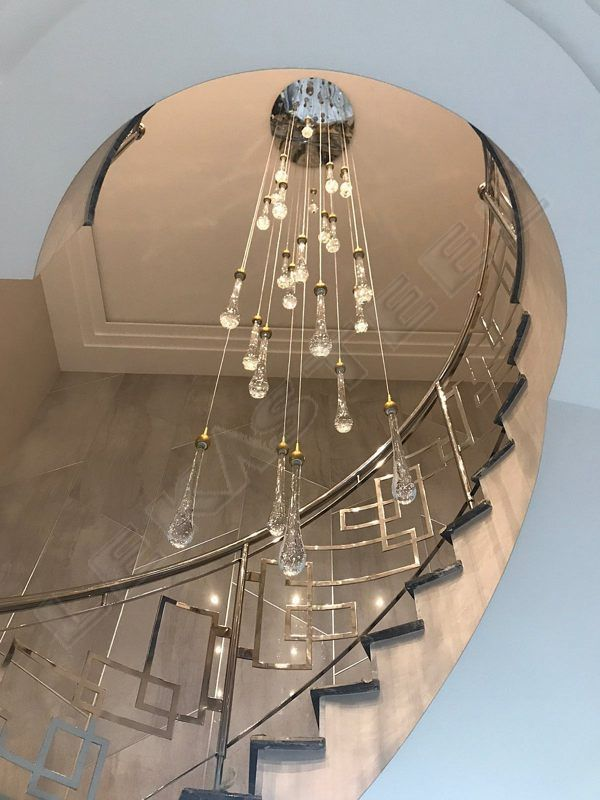 перила, перила на лестницу, перила из нержавейки, дизайнерские перила