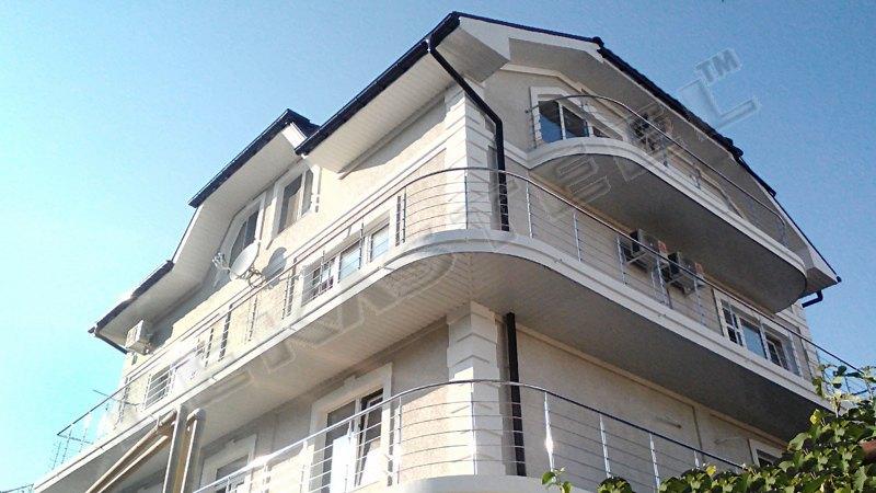 перила, перила на балкон, перила для балкона, перила нержавейка, нержавійка